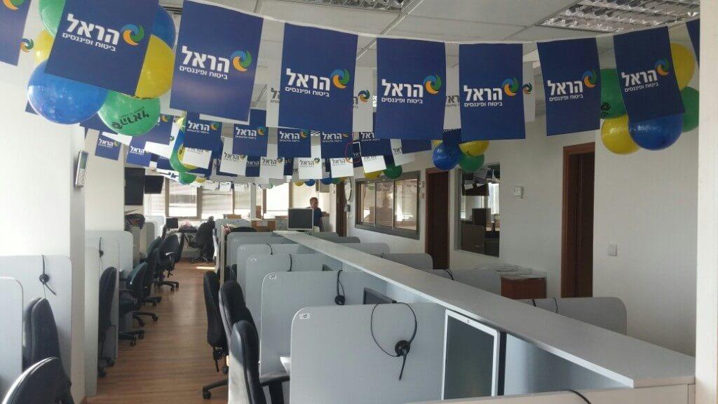 הקמת מוקד טלפוני למכירות ושירות לקוחות
